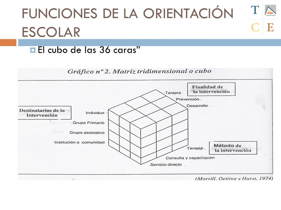 FUNCIONES DE LA ORIENTACIÓN ESCOLAR