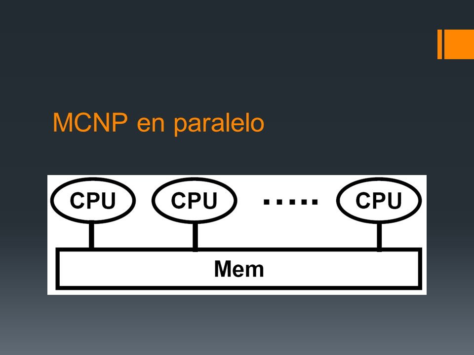 MCNP en paralelo