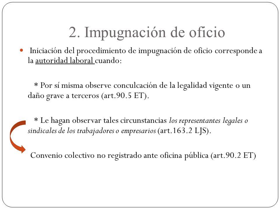 Convenio colectivo no registrado ante oficina pública (art.90.2 ET)