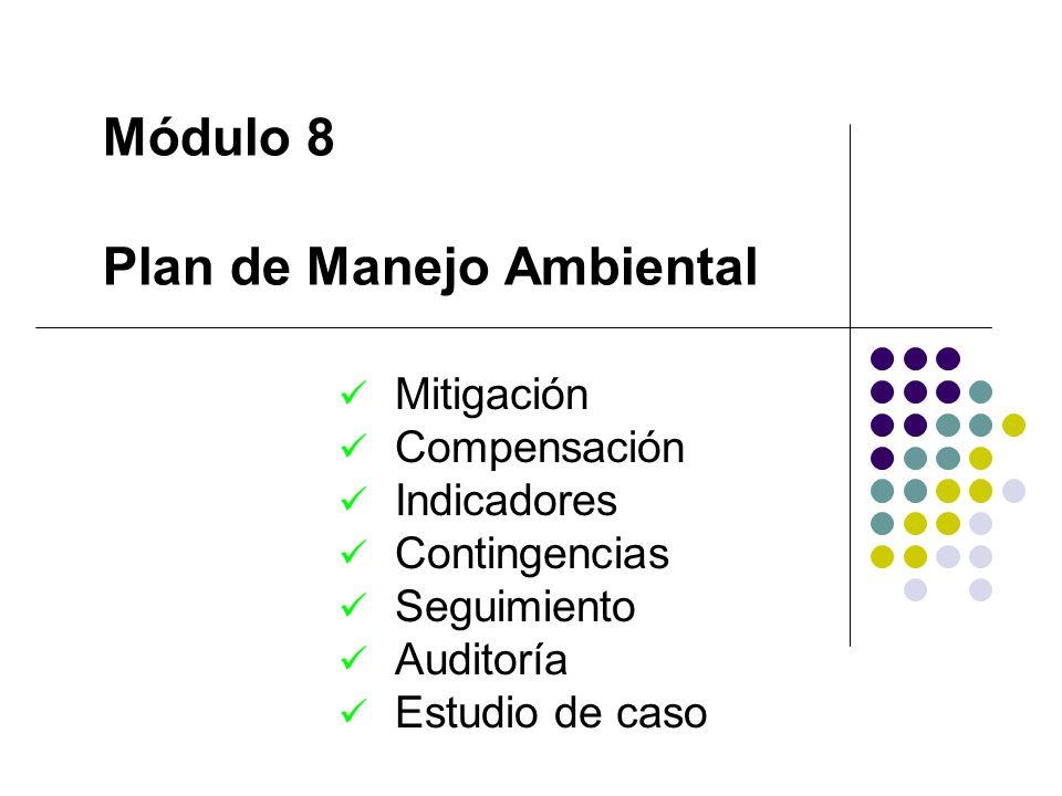 Módulo 8 Plan de Manejo Ambiental