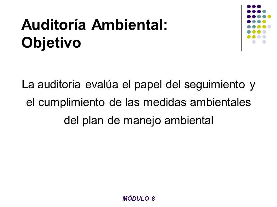 Auditoría Ambiental: Objetivo