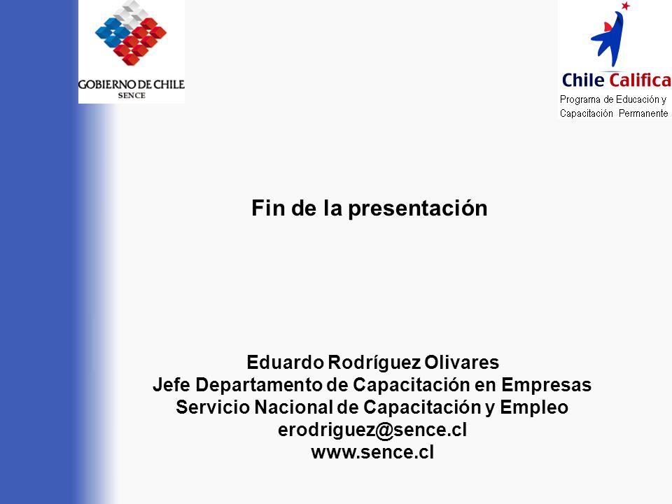 Fin de la presentación Eduardo Rodríguez Olivares