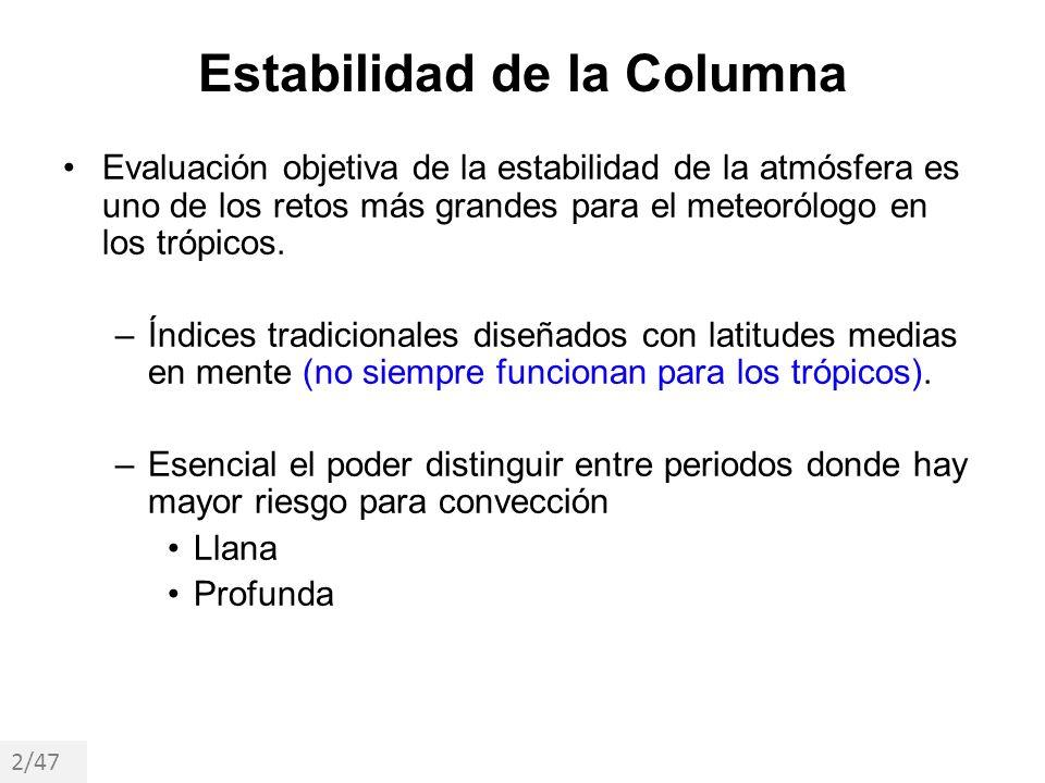 Estabilidad de la Columna