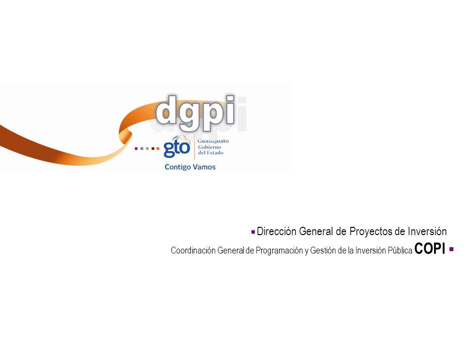Dirección General de Proyectos de Inversión