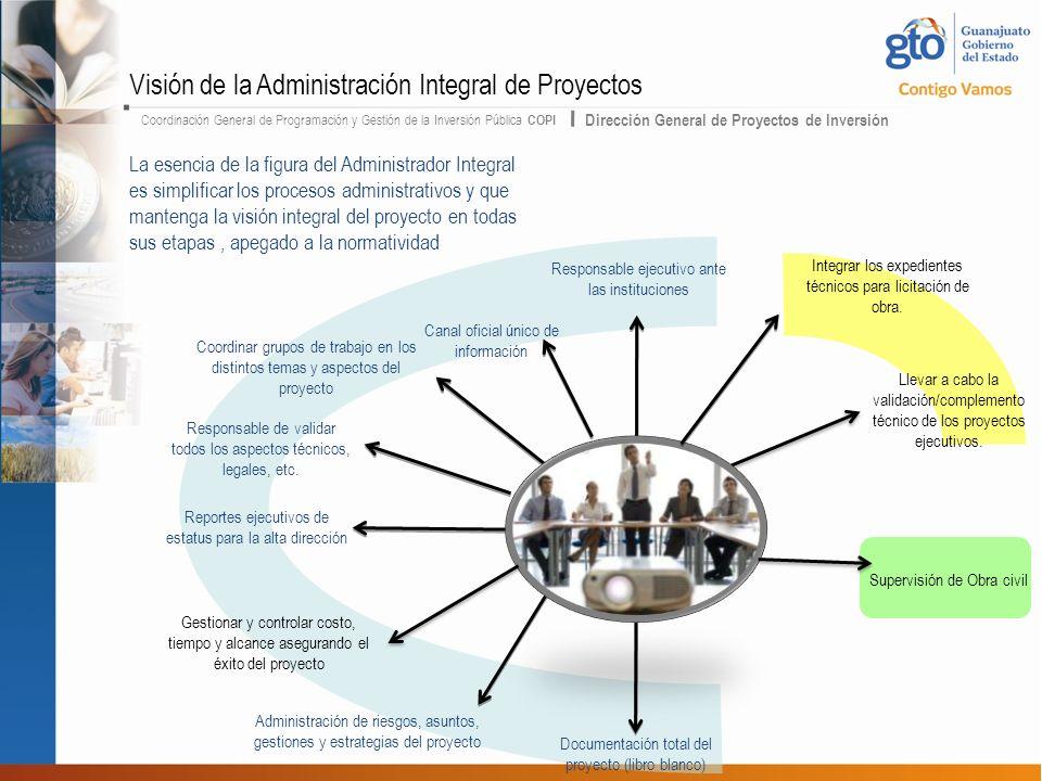 Visión de la Administración Integral de Proyectos