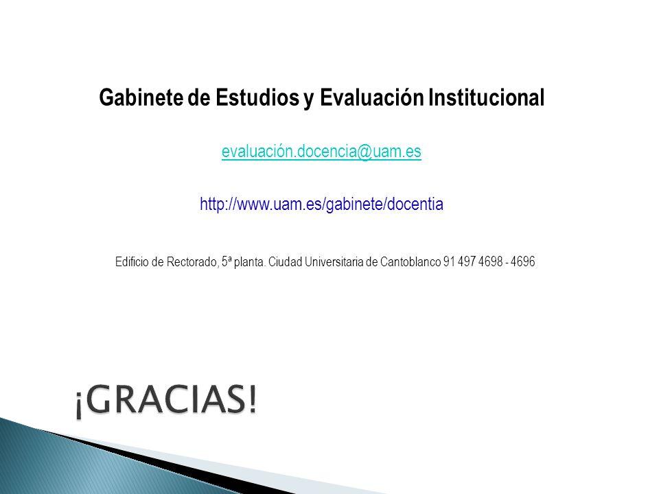 Gabinete de Estudios y Evaluación Institucional