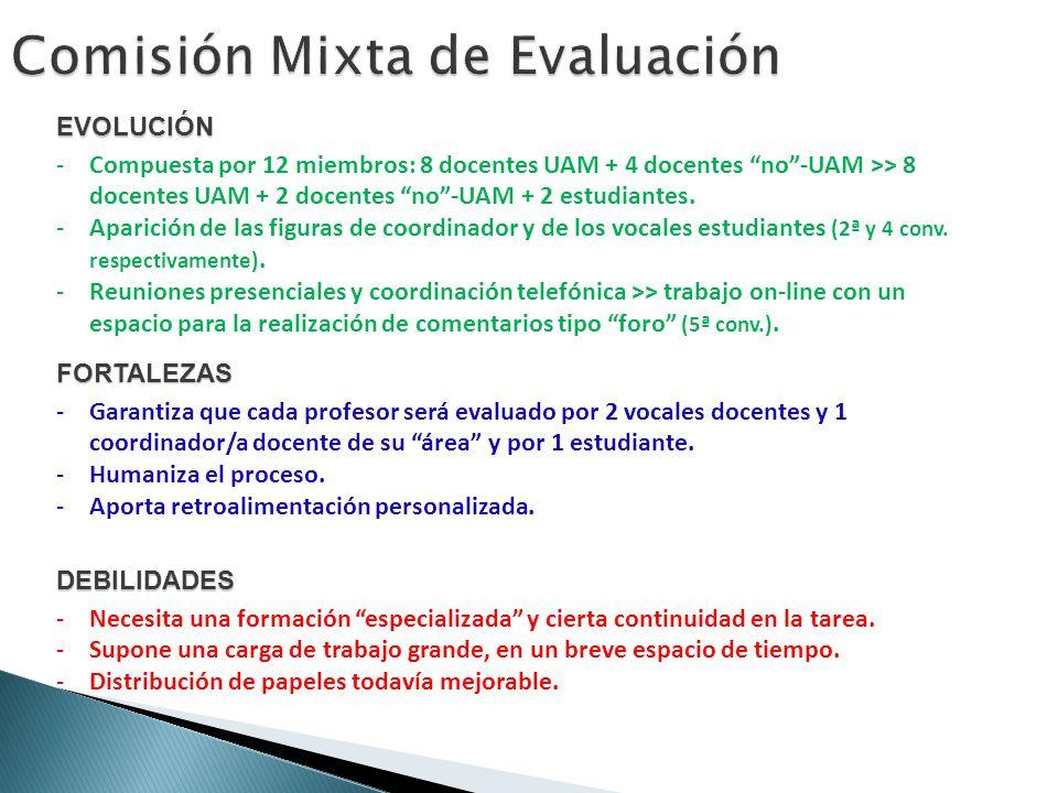 Comisión Mixta de Evaluación