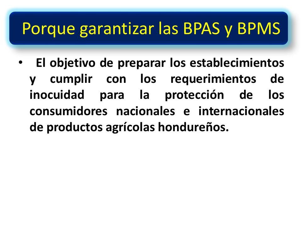 Porque garantizar las BPAS y BPMS