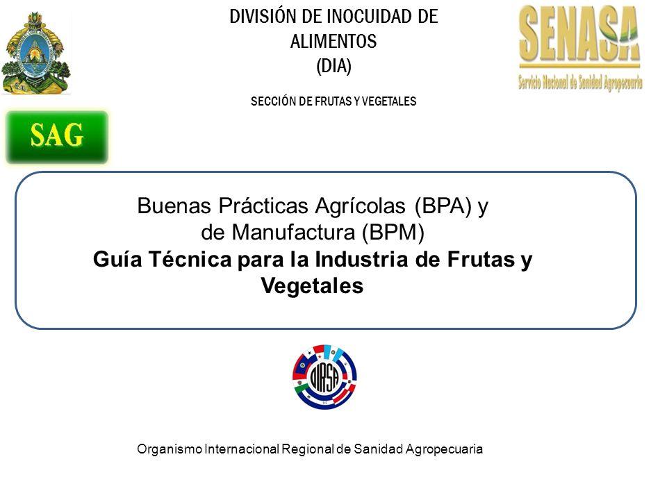 Guía Técnica para la Industria de Frutas y Vegetales