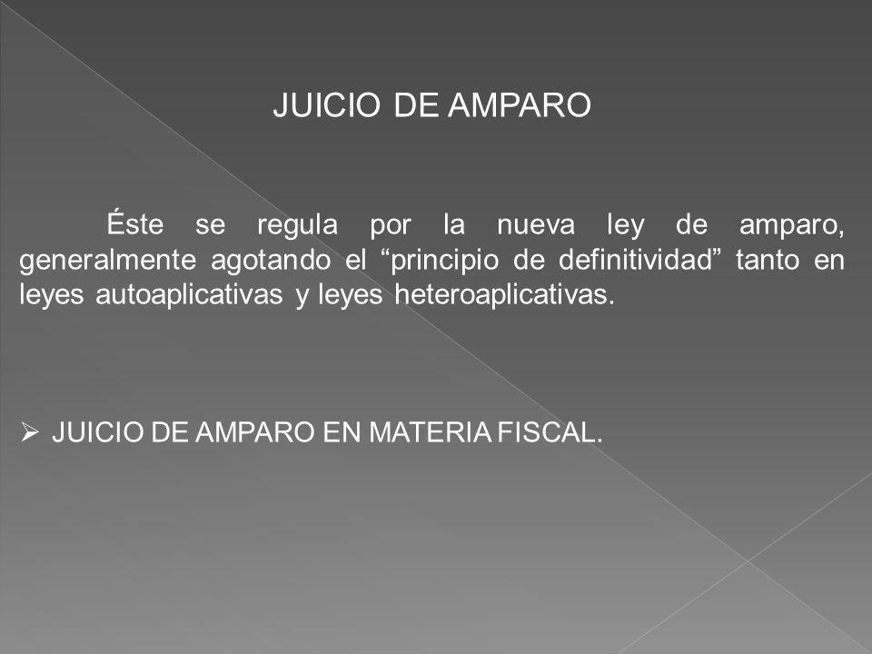 JUICIO DE AMPARO