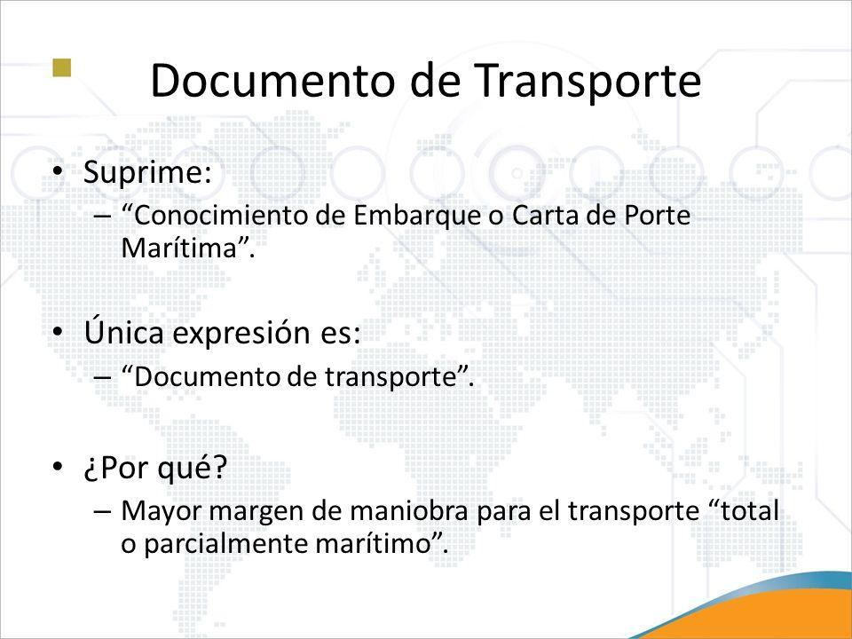 Documento de Transporte