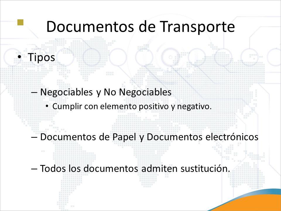Documentos de Transporte