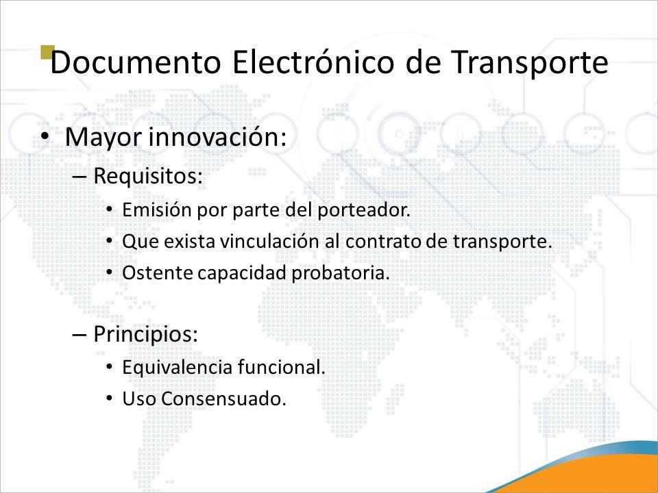 Documento Electrónico de Transporte