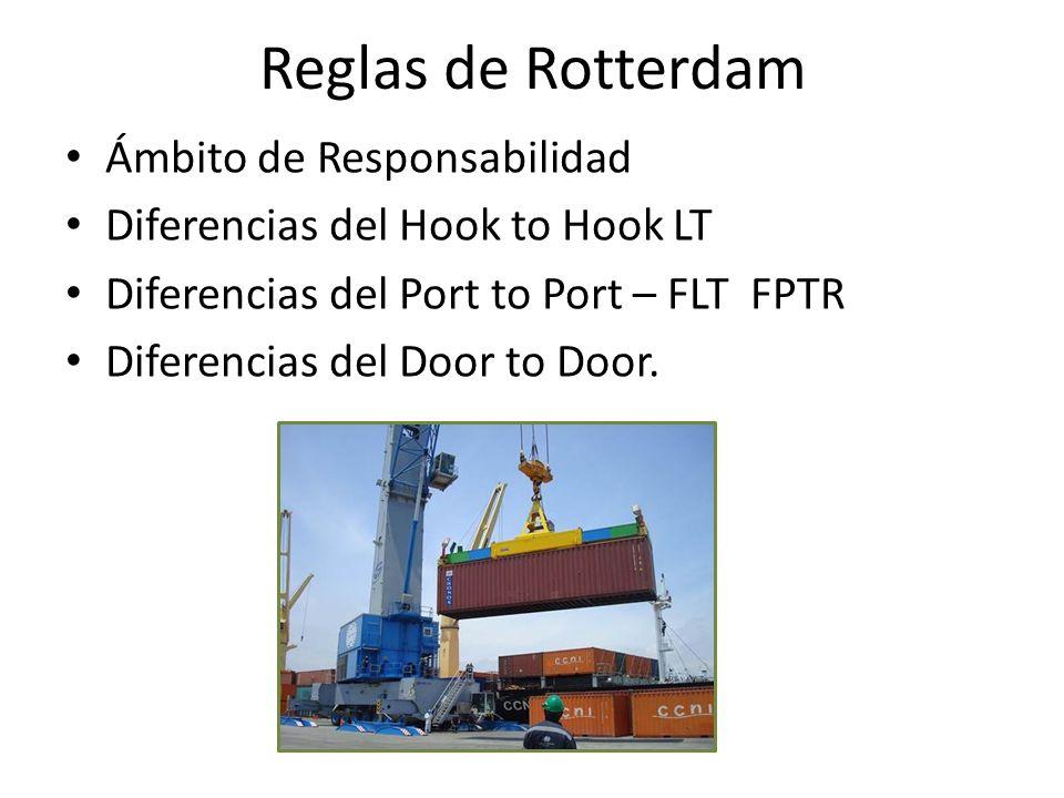 Reglas de Rotterdam Ámbito de Responsabilidad