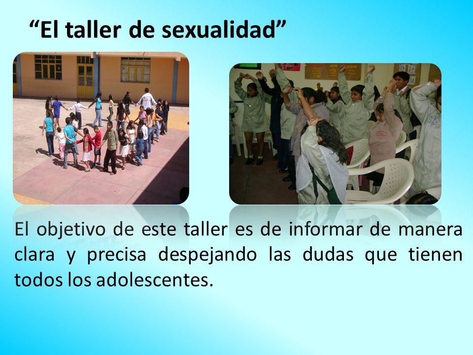 El taller de sexualidad