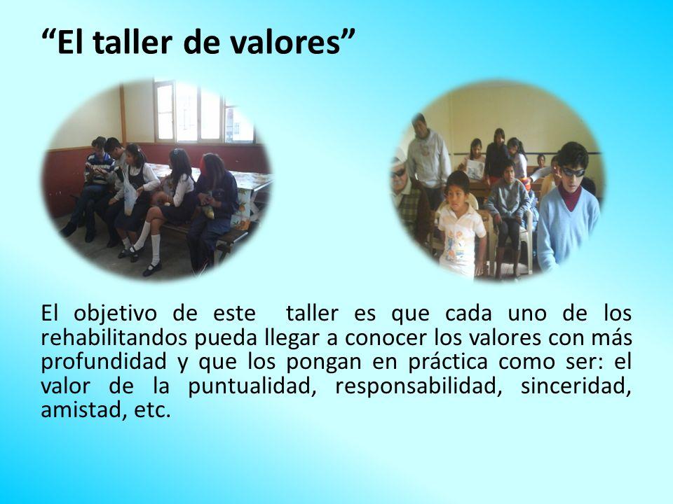 El taller de valores