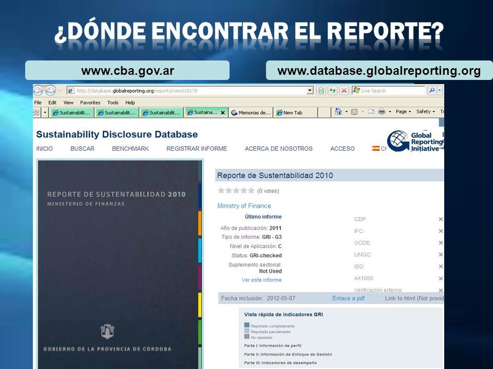¿Dónde Encontrar el Reporte