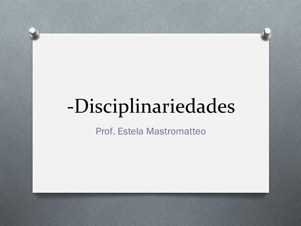 Prof. Estela Mastromatteo
