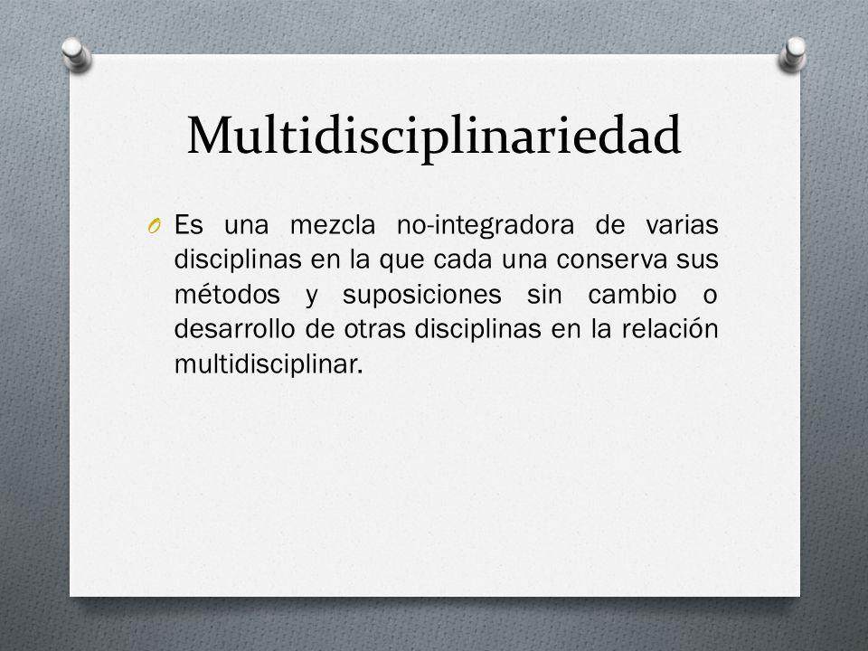 Multidisciplinariedad