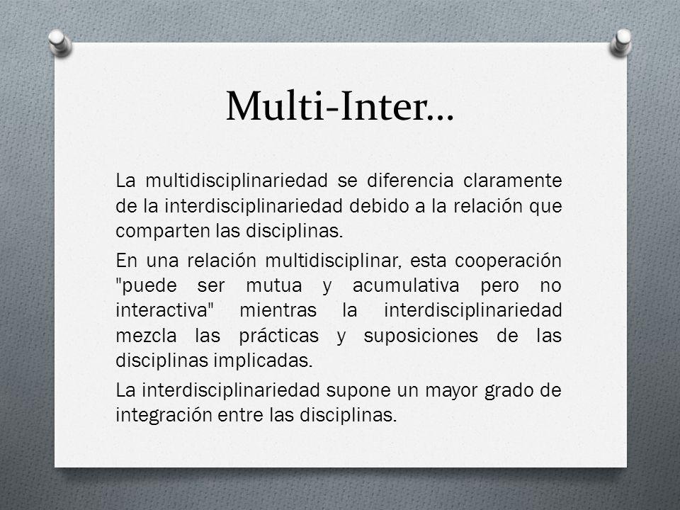 Multi-Inter…