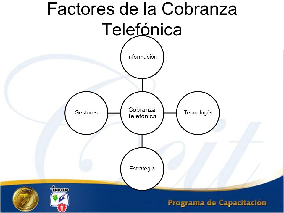 Factores de la Cobranza Telefónica