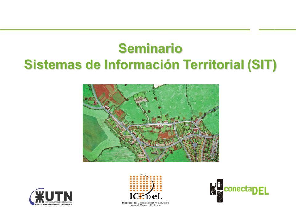 Sistemas de Información Territorial (SIT)