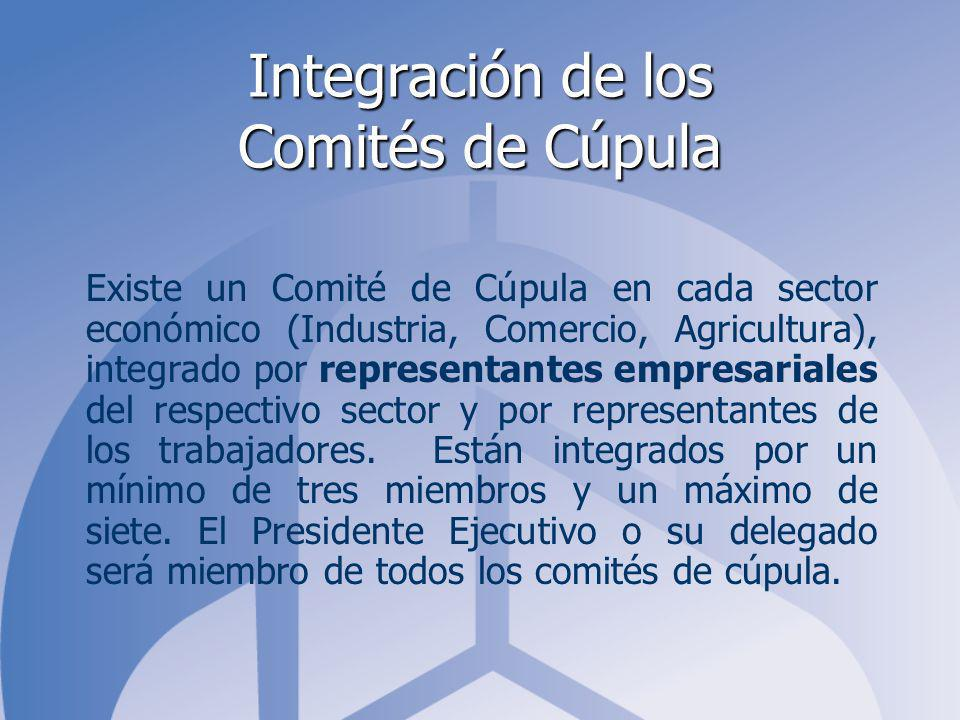 Integración de los Comités de Cúpula