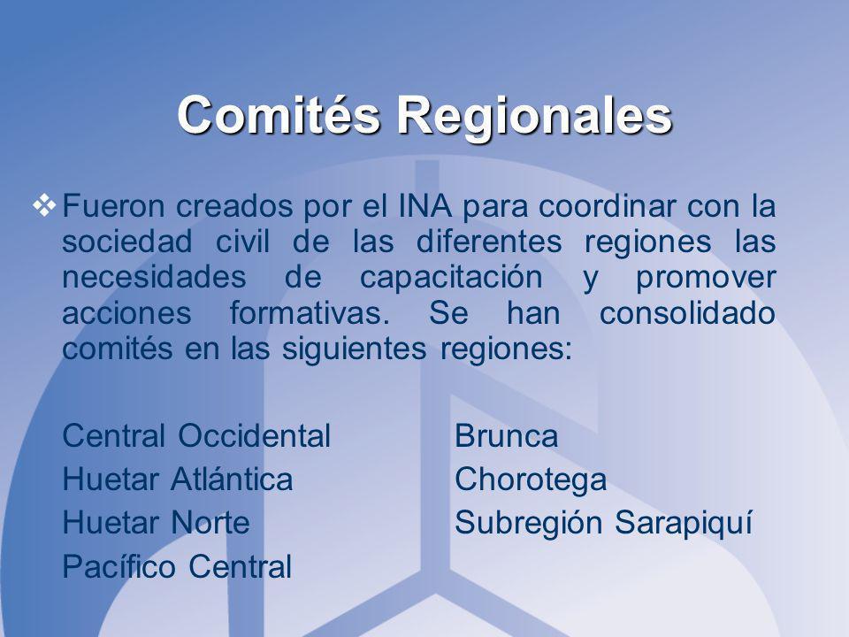 Comités Regionales