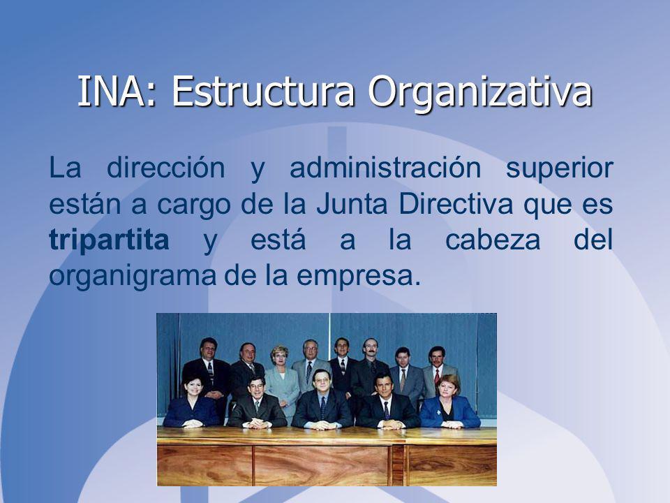 INA: Estructura Organizativa