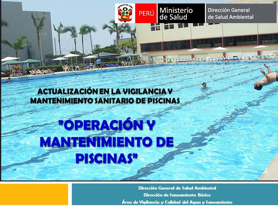 Operaci n y mantenimiento de piscinas ppt descargar for Mantenimiento de piscinas