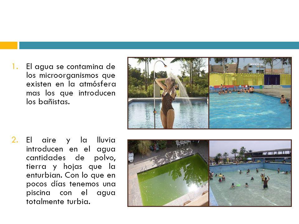 Operaci n y mantenimiento de piscinas ppt descargar - Agua de la piscina turbia ...