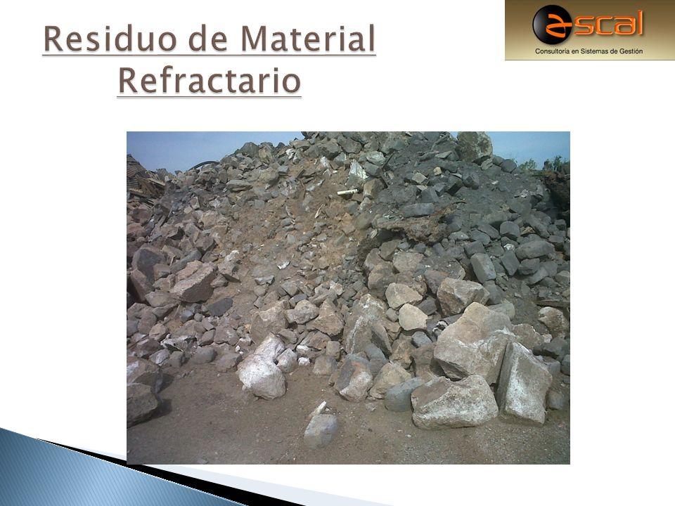 Residuo de Material Refractario