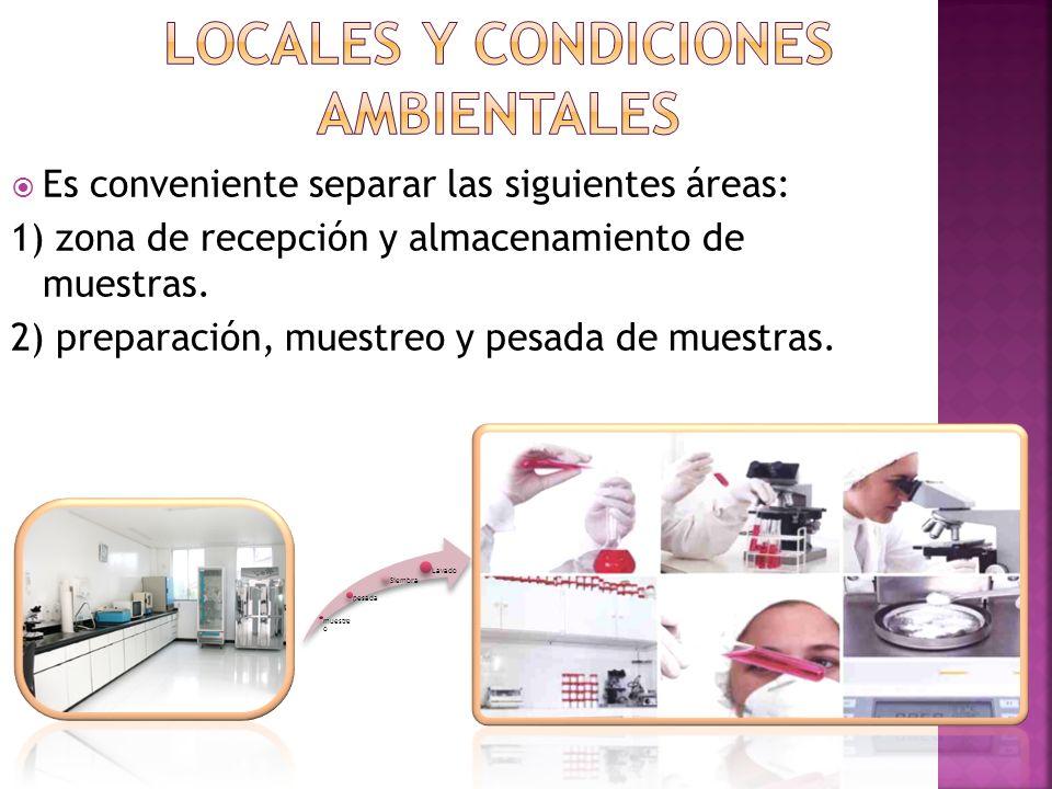 Locales Y CONDICIONES AMBIENTALES