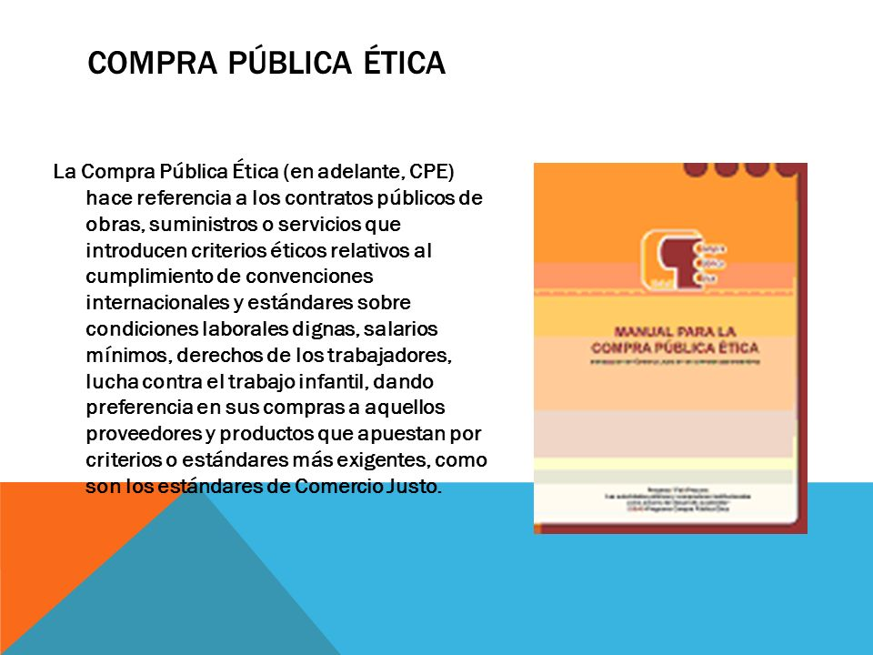 Compra Pública Ética
