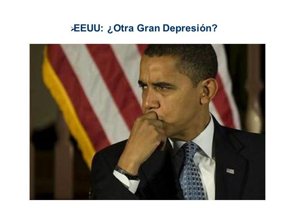 EEUU: ¿Otra Gran Depresión