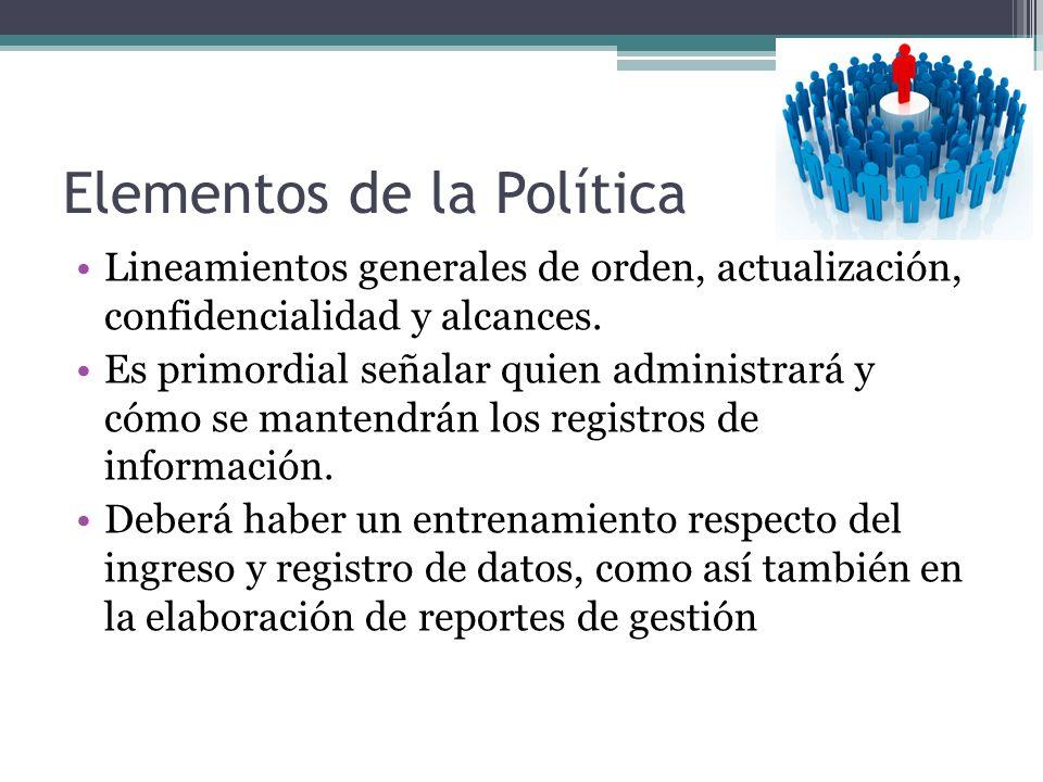 Elementos de la Política