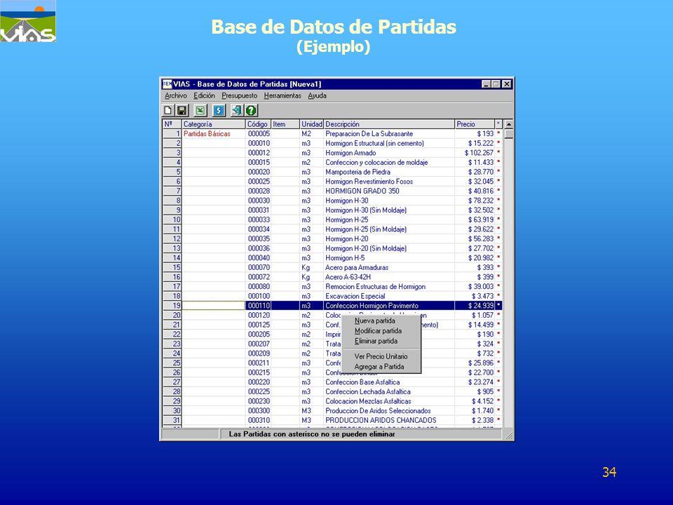 Base de Datos de Partidas (Ejemplo)