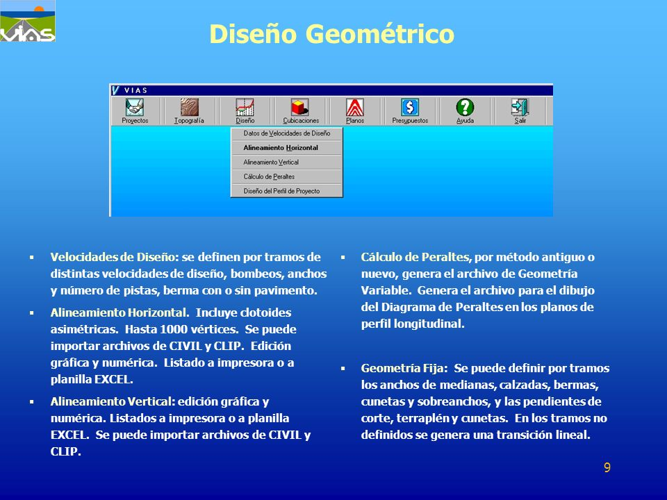 Diseño Geométrico