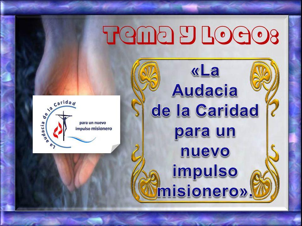 Tema y logo: «La Audacia de la Caridad para un nuevo
