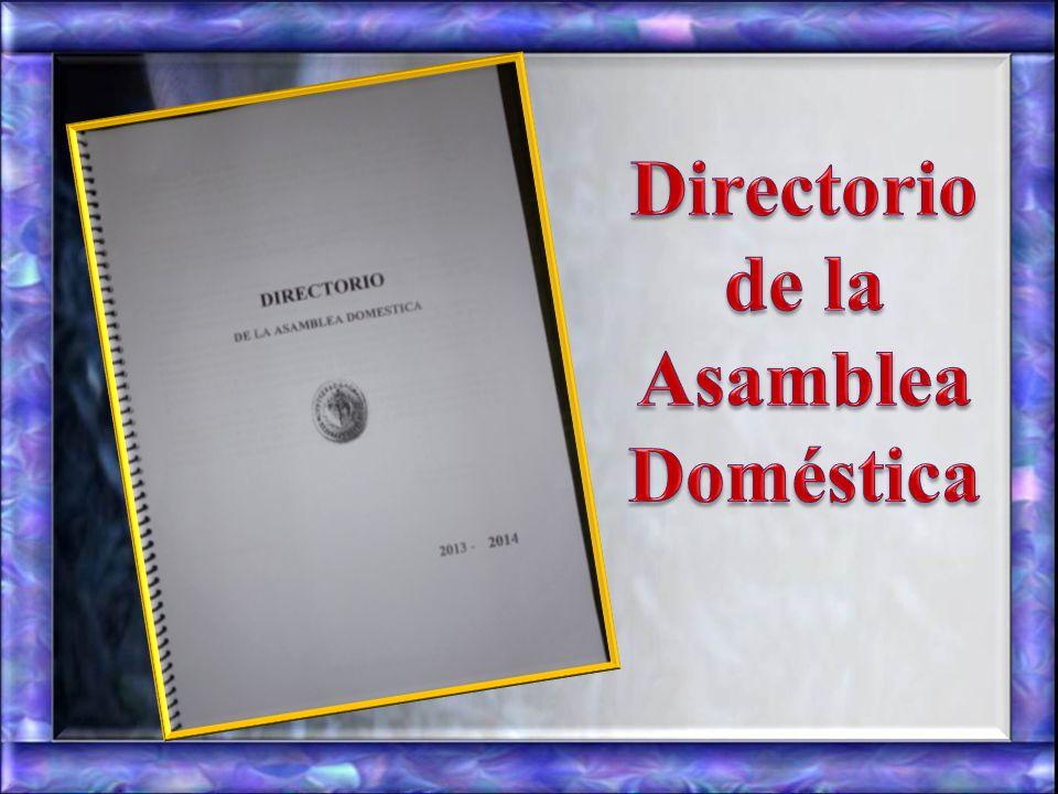 de la Asamblea Doméstica
