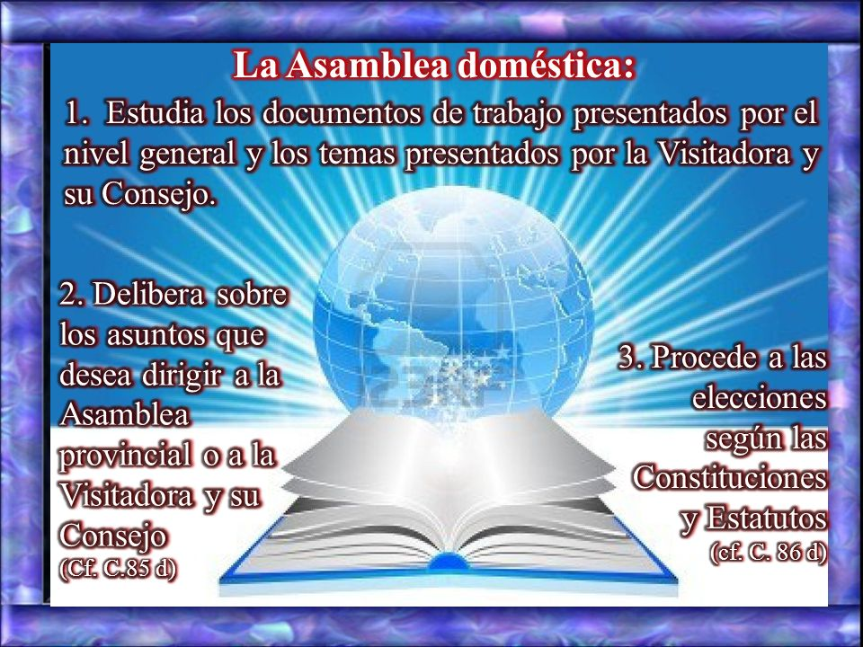 La Asamblea doméstica: