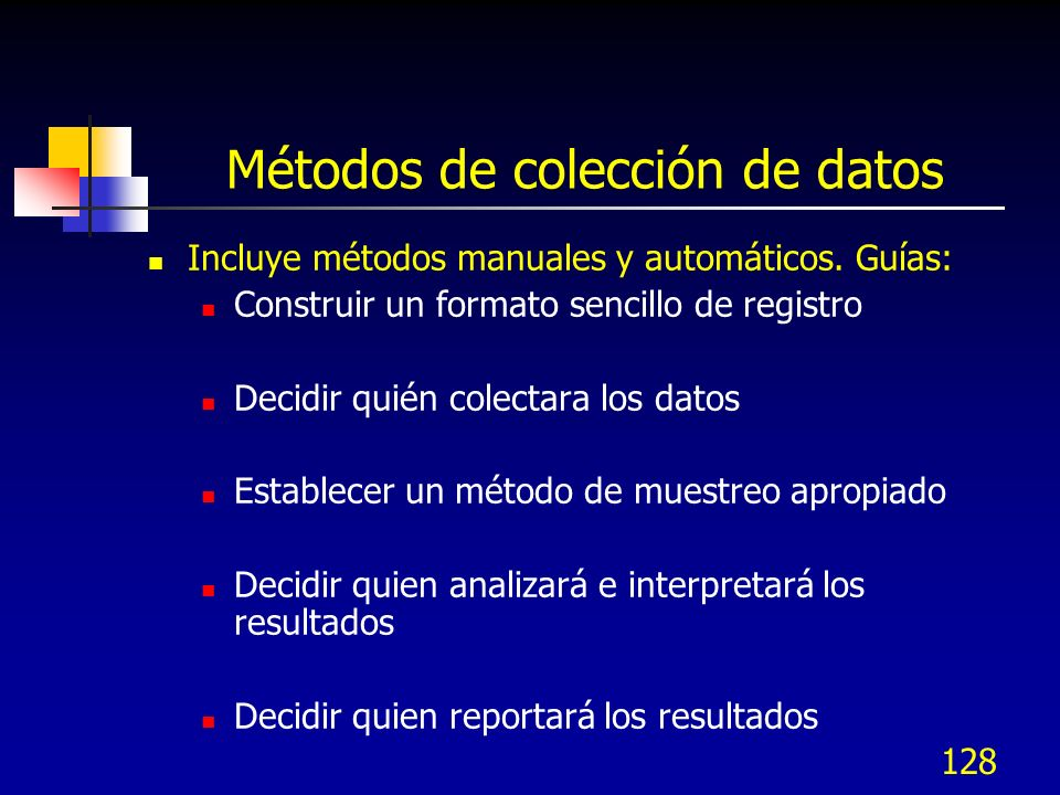 Métodos de colección de datos
