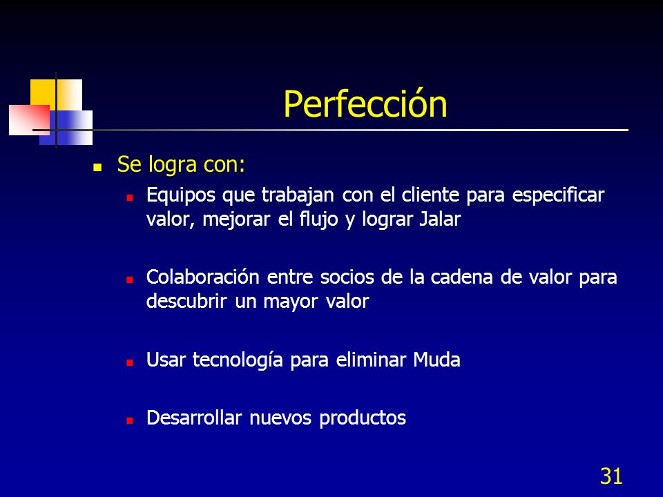 Perfección Se logra con: