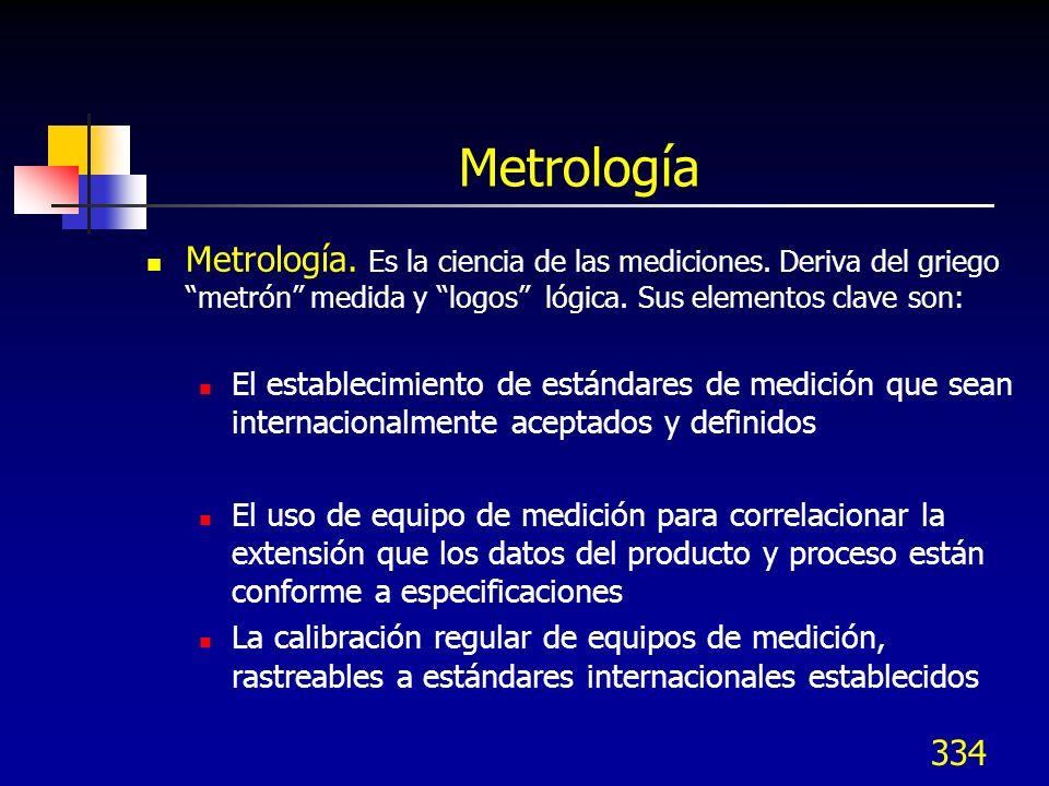 Metrología Metrología. Es la ciencia de las mediciones. Deriva del griego metrón medida y logos lógica. Sus elementos clave son: