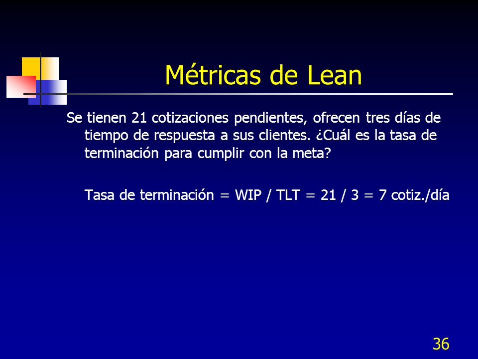 Métricas de Lean