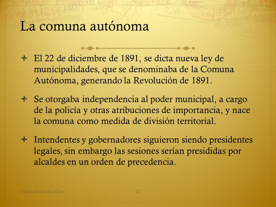 La comuna autónoma