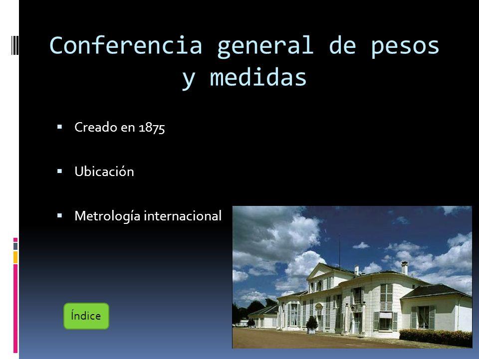 Conferencia general de pesos y medidas