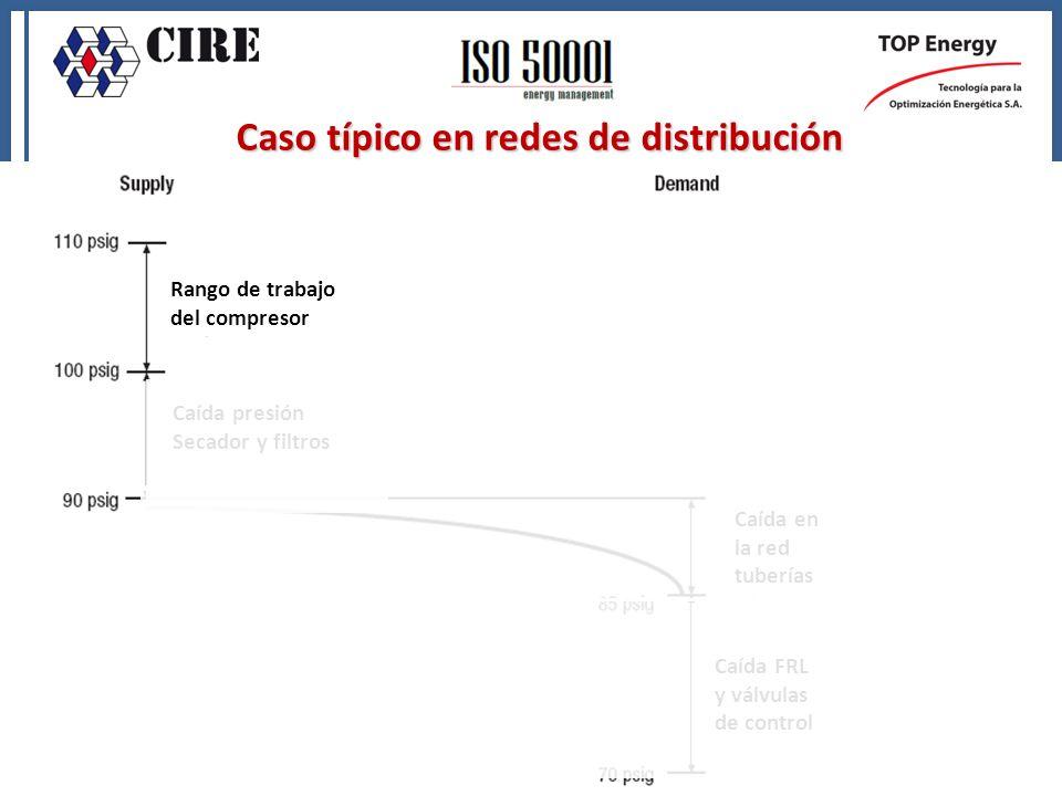 Caso típico en redes de distribución