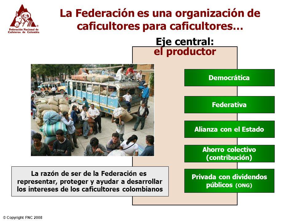 La Federación es una organización de caficultores para caficultores…