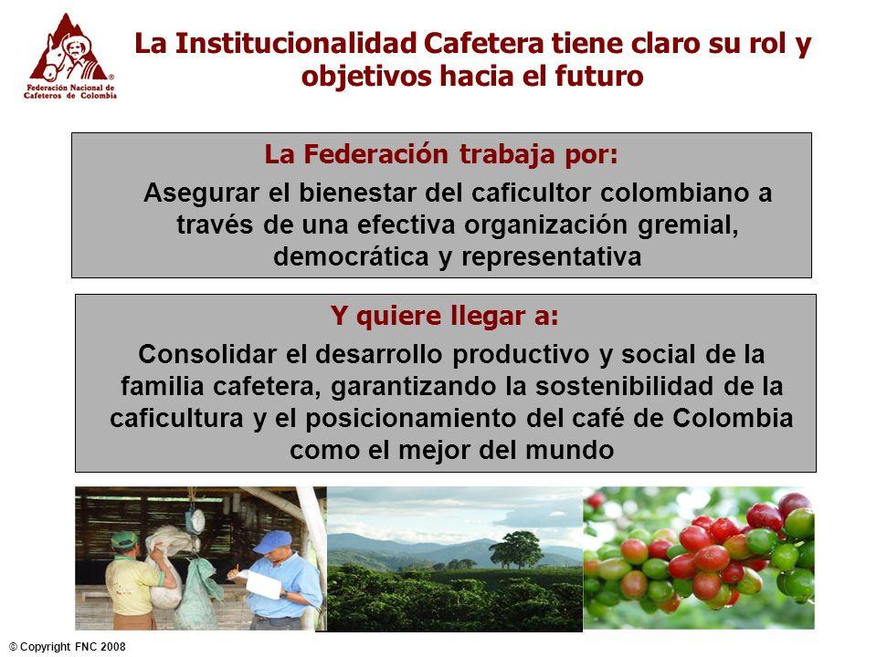 La Institucionalidad Cafetera tiene claro su rol y objetivos hacia el futuro